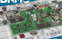Map of UB's Downtown Campus.