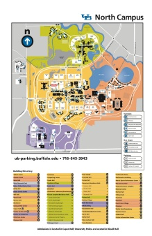 North Campus map.