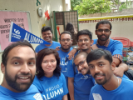 UB alumni participating in Alumni Day of Service 2019 in Bengalore