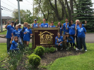 UB alumni participating in Alumni Day of Service 2019 in Buffalo