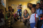 """You can say what you want about the classroom, but the passion within that room is incredible,"" says Natasha Clark about a preschool in Tarime. ""They don't have the things we think are necessary for education, like desks or books, but they still persevere."""