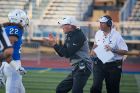 Head coach Lance Leipold encourages his players. Photo: Merredith Forrest Kulwicki