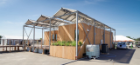 This is what the GRoW Home looked like when it was in Irvine, Cal., for the 2015 Solar Decathlon. In addition to its second-place finish overall, the project earned top-five finishes in each of the competition's 10 contests. The house placed first in three of those contests, all in measures of energy performance. Photo credit: Carl Burdick