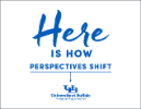 Here is how perspectives shift poster.