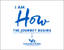 I am how the journey begins poster.
