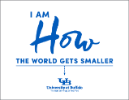I am how the world gets smaller poster.