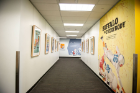 """Buffalo vs. Everybody"" exhibit in Silverman Library"