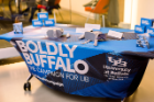 Table arrangement at the Boldly Buffalo event in DC.
