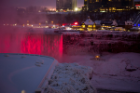 Ice and snow over Niagara Falls during a cold winter weather week in January. Photographer: Meredith Forrest Kulwicki