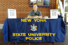 Job Fair State New York University Police representative