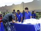 EOC at Juneteenth event
