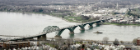 Aerial Photo of Peace Bridge, Buffalo, New York