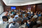 It was a packed house in 10 Capen Hall on Wednesday for the first Difficult Conversation of the 2017-18 academic year. Photographer: Meredith Forrest Kulwicki
