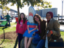 Canalside and the ever-popular Shark Girl.