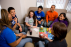 SAFE, COMFORTABLE LIVING: Whether you choose to live in Greiner Hall with its mix of living suites, classrooms and a café, or in one of our apartment villages like Hadley or South Lake, you will feel safe and comfortable in your new home while meeting new people and making plenty of friends.