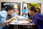 UB COMMONS: In addition to our three dining centers, you'll find dozens of other food and beverage locations around campus and in our Commons shopping and dining court, with offerings ranging from pizza, sushi and fresh-made salads, to an Indian buffet.