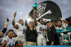 Buffalo Football takes on the Charlotte 49ers at the Makers Wanted Bahamas Bowl at Thomas A. Robinson National Stadium on Dec. 20, 2019. Buffalo won 31-9.\r\rPhotographer: Meredith Forrest Kulwicki