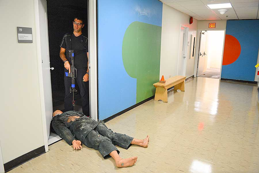 North Campus Exercise Demonstrates Rapid Coordinated