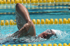 An athlete competes at the 2015 Special Olympics World Games in Los Angeles. July 29, 2015.