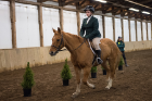 Equestrian competition at the Special Olympics New York Fall Games. Glens Falls. Oct. 18, 2014.