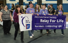 American Cancer Society Relay For Life at UB. April 24, 2015.