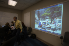 Live video display of incident site was available in the Emergency Response Center