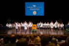 Jacobs School of Medicine and Biomedical Sciences White Coat Ceremony with it's largest class of 180 students at the Center for the Arts Mainstage Theater.