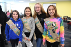 Frontier Middle School students (from left) Juliana Meade, Ava Imiola, Taryn O'Shei and Ashley Mazur. All are from Troop 31319.