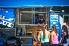 At the Big Blue and Little Blue food trucks, we take our passion for great food and creativity to a whole new level. Come herd at the curb.