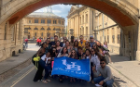On a tour of Oxford, UB students learned that Oxford is more than a University, but most people who live there are working or associated with the University. The guided tour featured the town, University, various movie sets (Harry Potter) and gave students a glimpse into the University's culture.
