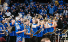 UB Pep Band performing at the MAC Basketball Championship Game in Cleveland, OH