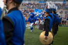 The band is an integral part of the game day experience.