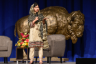 Malala Yousafzai (Girls Education Activist and Nobel Peace Prize Winner) at the UB Alumni Arena on September 19, 2017