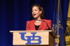 Susan Rice (Former U.S. National Security Advisor from 2013-17) at the UB Alumni Arena on February 28, 2018