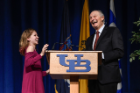 Alan Alda (TV Icon and Science Communicator) at the UB Alumni Arena on May 2, 2018