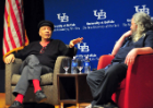 Walter Mosley (Novelist and Social Commentator) at the Center for the Arts on February 28, 2013