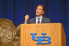 Sanjay Gupta (Emmy Award-Winning Chief Medical Correspondent for CNN) at the UB Alumni Arena on March 26, 2014