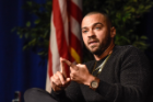 Jesse Williams (Actor and Activist) at the UB Alumni Arena on November, 18, 2017