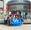 SLIDE participants gain global perspective after visiting the United Nations in Vienna, Austria.