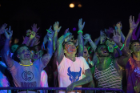 The Bulls After Dark Welcome Bash featured a paint party and EDM concert.