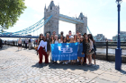 The 2019 SLIDE trip took students to London and Paris, where they experienced different leadership styles from around the world, and explored new cultures.