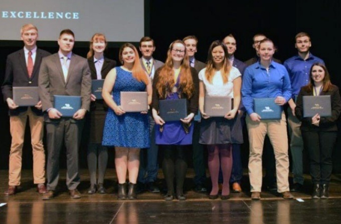 Out of eight NSF graduate fellowship winners from UB this year, three were math majors. Photo: Joe Cascio