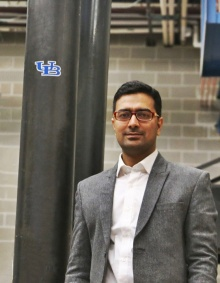 Ketan Ragalwar, a PhD student in Civil Engineering receives research grant