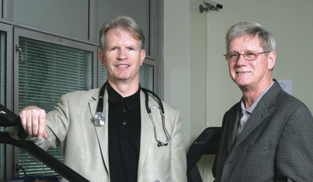 Barry Willer, PhD and John Leddy, MD.