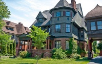 A photo of one of the many Victorian-era homes in the Buffalo-Niagara region.