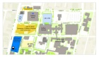 Map of the Buffalo Niagara Medical Campus.