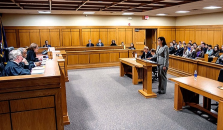 UB moot courtroom.