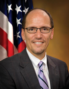 Head shot of Secretary of Labor Thomas E. Perez.