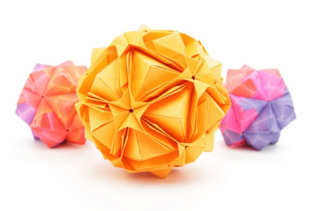 An image of origami
