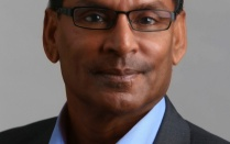 Head shot of Paras Prasad, SUNY Distinguished Professor in the departments of Chemistry, Physics, Medicine and Electrical Engineering.